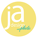 ja design and photo logo photography graphic design